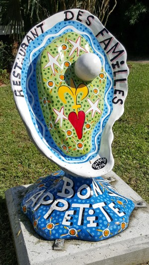 Follow the Jefferson Parish Oyster Trail to discover the signature 3 foot oyster statues that are hand-painted by local artists!